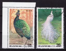 Corée Du Nord 1990 - Oblitéré - Oiseaux - Michel Nr. 3104-3105 Série Complète (prk509) - Korea (Nord-)