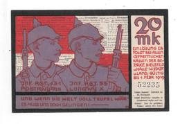 Bielefeld 20  Mark       1/11//1918        46.09a - [11] Emisiones Locales