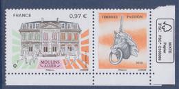 Moulins, Allier, Timbres Passion 0.97€ Coin De Feuille Neuf Avec Logo éco - Ongebruikt