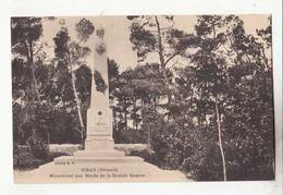 Carte France 34 - Siran - Monument Aux Morts De La Grande Guerre -  Achat Immédiat - Other Municipalities