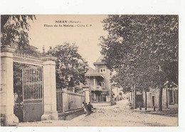 Carte France 34 - Siran - Place De La Mairie -  Achat Immédiat - Other Municipalities