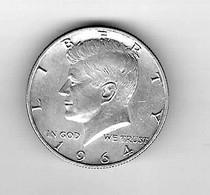 Half Dollar USA Kennedy 1964 Argent Très Bon état - Verzamelingen