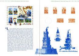 """""""  LES PHARES """" Sur Document Philatélique Officiel De 2007  De 4 Pages  N° YT BF 114.  DPO - Lighthouses"""