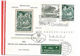 """243 - 94 - Enveloppe Avec Oblit Spéciale """"Christkindl 1963"""" - 1961-70 Cartas"""
