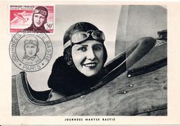 ACHAT IMMEDIAT : MARYSE BASTIE - P.A. 34 - PARIS JUIN 1955 - 1950-59