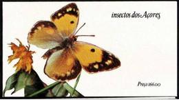 Carnet Timbres PORTUGAL 1985 Insectos Dos Açores - Boekjes