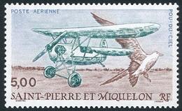 ST-PIERRE ET MIQUELON 1990 - Yv. PA 69 **   Faciale= 0,76 EUR - Avion Pou-du-ciel Et Oiseau De Mer  ..Réf.SPM12608 - Neufs