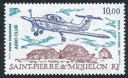 ST-PIERRE ET MIQUELON 1991 - Yv. PA 70 **   Faciale= 1,52 EUR - Avion Piper Tomahawk  ..Réf.SPM12611 - Neufs