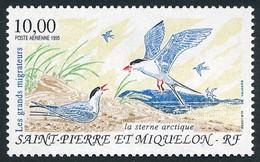 ST-PIERRE ET MIQUELON 1995 - Yv. PA 74 **   Faciale= 1,52 EUR - Oiseaux Migrateurs Sterne Arctique  ..Réf.SPM12623 - Unused Stamps