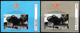 Turkey, Türkei - ANKARA * War Of Independence Museum * Entrance Ticket * - Toegangskaarten
