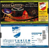 Turkey, Türkei - Entertainment Center Park Antep * Entrance Ticket * - Toegangskaarten