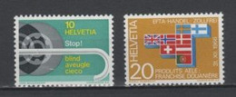 (S2166) SWITZERLAND, 1967 (Annual Events). Complete Set. Mi ## 851-852. MNH** - Nuovi
