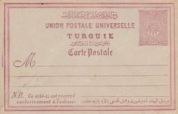 TURQUIE EMPIRE OTTOMAN ENTIER CARTE 20 PARAS NEUF - Lettres & Documents
