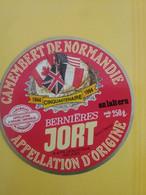 Etiquette Camembert Jort - Quesos
