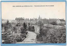 91 SAINT MICHEL SUR ORGE - Panorama Pris De La Rue Du Lancier - Saint Michel Sur Orge