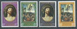 Sainte-Lucie YT N°243/246 Pâques 1969 Neuf/charnière * - St.Lucia (...-1978)