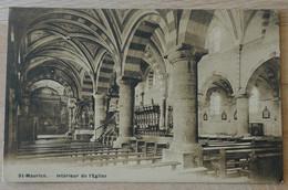 Abtei Saint-Maurice Abbaye De Saint-Maurice D'Agaune - VS Valais