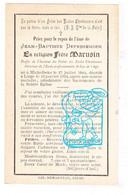 DP EH Jean Bapt. Depessemier - Frère Marusin ° Michelbeke Brakel 1844 † Liège 1904 / Ecole St-Luc Liège & St-Lucas Gent - Andachtsbilder