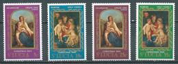 Sainte-Lucie YT N°255/258 Noël 1969 Neuf/charnière * - St.Lucia (...-1978)