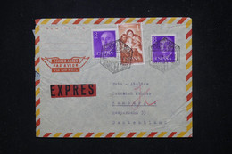 ESPAGNE - Enveloppe En Exprès De Barcelone Pour L 'Allemagne En 1959 - L 81267 - 1951-60 Cartas