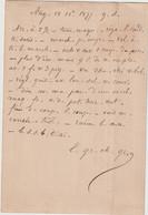 """Seine Et Oise CP Précurseur 15c Sage O. T16 Angerville Texte """"en Abrégé""""  1877 - 1877-1920: Période Semi Moderne"""