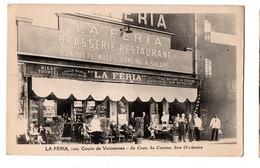 PARIS LA FERIA RESTAURANT TRES ANIMEE - Cafés, Hoteles, Restaurantes