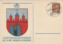 Allemagne Entier Postal Illustré 1942 - Postwaardestukken