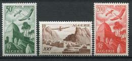 20320 ALGERIE PA9/11** Gravés  1949-53  TB/TTB - Luftpost