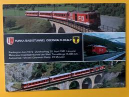 12322 - Suisse Furka-BasisTunnel Oberwald-Realp - Treinen