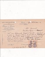 52-Burgeat & Girardot..Vins & Spiritueux..Gourzon..(Haute-Marne)..1934 - Altri