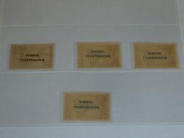 LOT De 4 TIMBRES PUBLICITAIRE En FRANCAIS Sur TAAF & SPM - NEUF Ou OBLITERE (V) - Publicidad