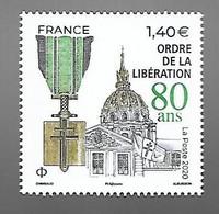 France 2020 -  80 Ans De L'ordre De La Libération ** - Ongebruikt