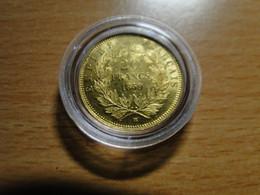 France - 20 Francs Or, Napoléon II, Tête Nue 1859 Sous Capsule - L. 20 Francos