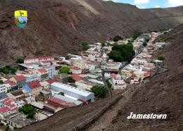 Saint Helena Island Jamestown Aerial View New Postcard - Saint Helena Island