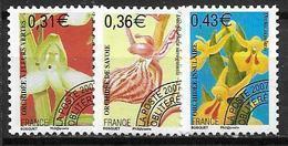 France 2007 Préoblitérés N° 250/252 Neufs Orchidées à 20% De La Cote - 1989-....