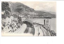 CÖTE D'AZUR - MONTE-CARLO. - La Gare. - Monte-Carlo