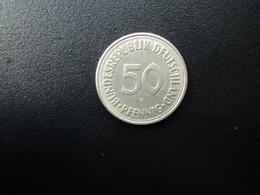 RÉPUBLIQUE FÉDÉRALE ALLEMANDE * : 50 PFENNIG   1970 F    KM 109.1     TTB - 50 Pfennig