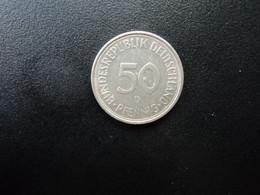 RÉPUBLIQUE FÉDÉRALE ALLEMANDE * : 50 PFENNIG   1974 D    KM 109.2     SUP - 50 Pfennig