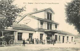 LAGNY GARE DE LAGNY THORIGNY POMPONNE - Lagny Sur Marne