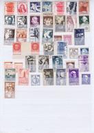 J3031 Lot De Tp ** Des Années 40-50 Differents - Unused Stamps