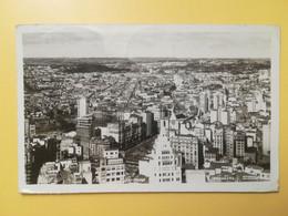 CARTOLINA POSTCARDS BRASILE BRAZIL 1949 PANORAMA SAN PAOLO SAO PAULO AFFRANCATURA MECCANICA ROSSA EMA - São Paulo