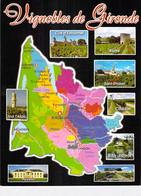 ** Lot De 7 Cartes  ** AGRICULTURE Vignes Vins Vignobles - Carte Géographique DIVERS VIGNOBLES DE FRANCE - CPM GF Vine - Vines