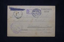 FRANCE / ALLEMAGNE - Carte D'un Prisonnier En Allemagne Pour Etampes En 1916 - L 81324 - Guerra De 1914-18