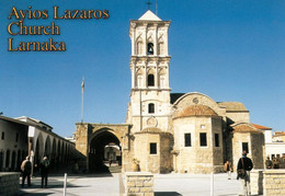 1 AK Zypern / Cyprus * Die Agios-Lazaros-Kirche - Erbaut Im 9. JH. In Der Stadt Larnaka - Rückseite Bedruckt Siehe Scans - Cyprus