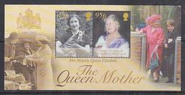 South Georgia 2002 The Queen Mother M/s ** Mnh (51090) - Südgeorgien