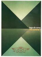LAGO DI COMO - VITA SERENA - BOZZETTO VINCITORE CONCORSO INTERNAZIONALE MANIFESTO - NON VIAGGIATA - Werbepostkarten