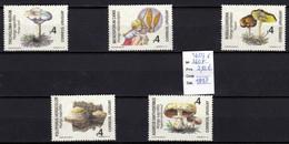 5 Timbres Neufs * * De Uruguay N° 1603 à 1607 Champignon, Pilze, Mushroom - Hongos