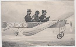 Cpa Militaire  Dans Avion( Voir Le Texte Au Verso) - Weltkrieg 1914-18