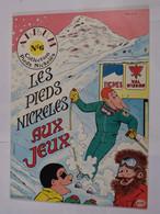 BD  - LES PIEDS NICKELES AUX JEUX  -  EDITION ORIGINALE - Pieds Nickelés, Les