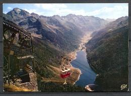 LARUNS - Artouste - Le Téléphérique, Le Pic Du Midi D'Ossau Et Le Lac De Fabrèges (carte Vierge) - Laruns